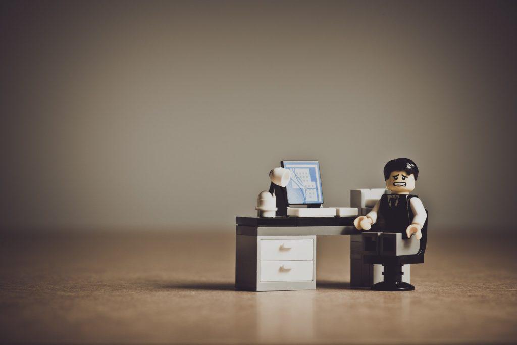 レゴの仕事風景